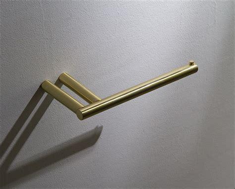 Brushed Brass Toilet Paper Holder   Moca Brass Bathroom