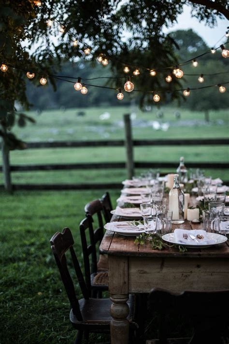 Backyard Dinner by 25 Best Ideas About Outdoor Dinner On