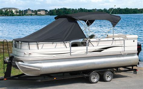 Pontoon Boat Top Covers by Pontoon Boat Playpen Sun Shade Cover 22 24 Boats 11