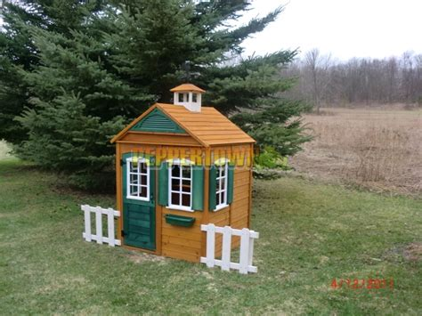 Big Backyard Playhouse by Big Backyard Bayberry Ready To Assemble Wooden Playhouse