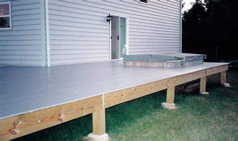 Deck Joist Fascia by Jpsdomain Org Plastic Deck Pictures