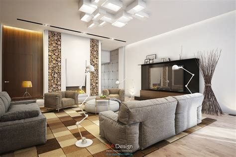 Luxurious Modern Cottage With Rich Warm Textures Playful Spaces by Luxurious Trendy Cottage With Wealthy Heat Textures