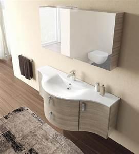 Meuble salle de bains arrondi lille douai lens le touquet for Meuble de salle de bain arrondi