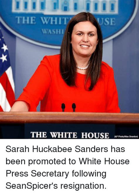 Sarah Huckabee Sanders Memes - the whit use washi the white housea reslx adan ap photoalex brandon sarah huckabee sanders has