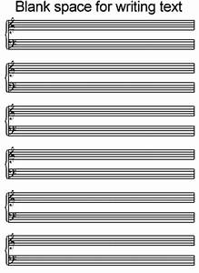Free blank sheet music/Tab for guitar, mandolin, bass, etc ...