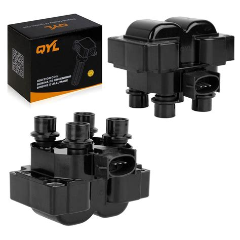 Qyl Brand Ignition Coil Packs Pair Set New For Ford