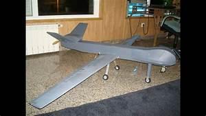 Scratch Built Uav Predator Mq9 Reaper Drone  Onboard Cam
