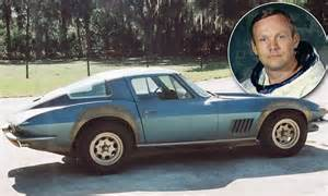 Neil Armstrong's Corvette which he bought in special deal ...