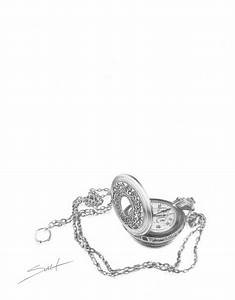 Vintage pocket watch sketch | Tattoo Dreams | Pinterest ...
