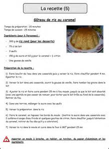 image recette de cuisine mimiclass