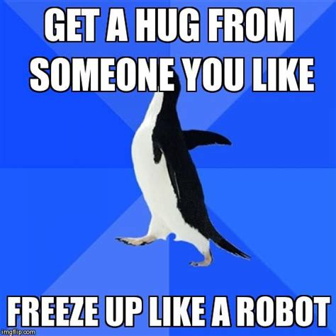 Socially Awkward Meme - socially awkward penguin meme imgflip