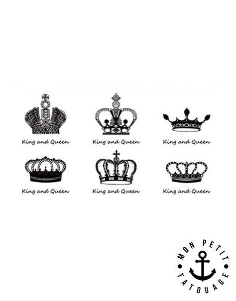 tatouage couronne homme tatouage couronne roi et reine mon petit tatouage temporaire