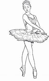 Coloring Pages Ballet Adult Dancers Ballerina Dancer Sheets Adults Draw sketch template
