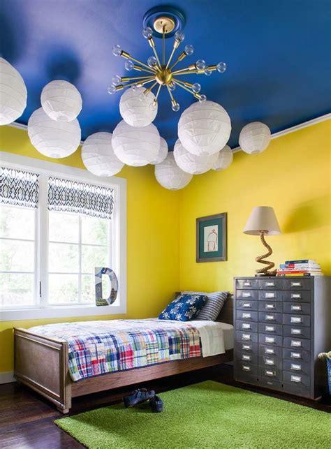 chambre bleu et jaune chambre bleu et jaune design de maison