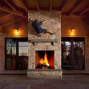 Indoor, Outdoor, Fireplace