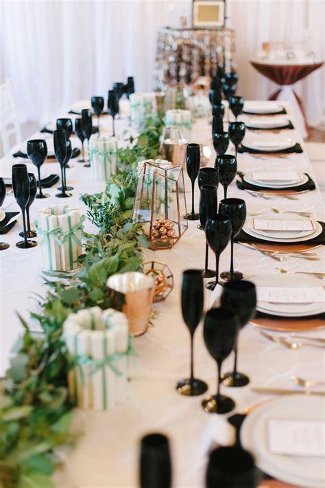 unique black d 233 cor elements for your wedding reception