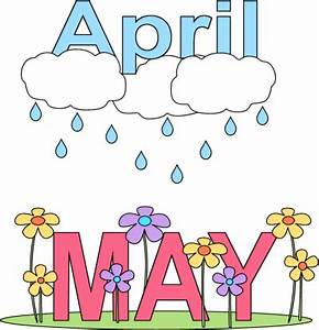 April And May Clipart