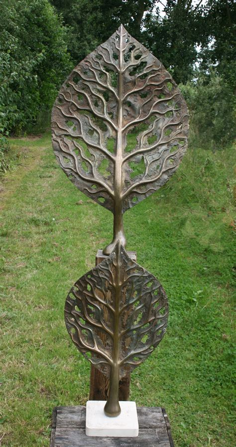 life leaf small mark reed sculpture