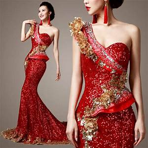 Gold and Red Gowns  Online Fashion Review u2013 Fashion Gossip