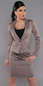 Anzug Größe Berechnen : sexy damen bussines kost m tailliert blazer rock gr 36 38 40 42 ebay ~ Themetempest.com Abrechnung