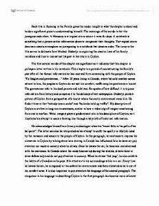 Essay On Terrorism In English Magical Realism Essay Questions Examples Proposal Essay Template also Definition Essay Paper Magical Realism Essay Chris Mccandless Essay Franz Roh Magical  Reflective Essay On High School