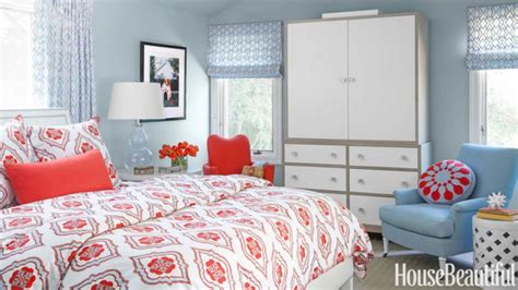 red  light blue bedrooms making  lovely