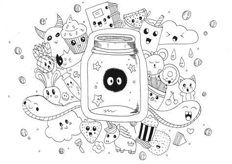 disegni kawaii da stare 30 idea disegni da colorare kawaii cibo pagine da colorare