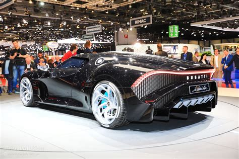 If we were to think about internal combustion engines in a logical manner, more cylinders would mean more power. UPDATE: $19M Bugatti La Voiture Noire Geneva Car Is a ...
