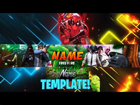 Here are the steps you should follow finding a youtube banner creator online that you can use for free or for a much more affordable price point than adobe photoshop is key, and visme is the perfect solution. Tren Untuk Youtube Banner Template Free Fire - Erlie Decor