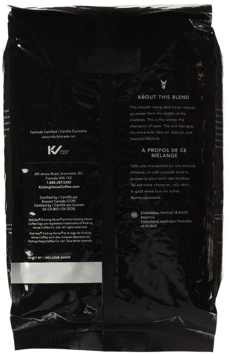 2 is decaf coffee safe during pregnancy? Kicking Horse Coffee 454 Horse Power Dark Roast Whole Bean ...
