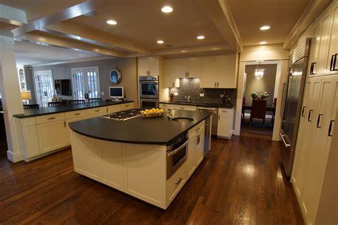 modern kitchen furniture with leathered granite furniture