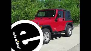 Trailer Hitch Installation - 2005 Jeep Wrangler