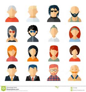 Business Avatar Icons Woman