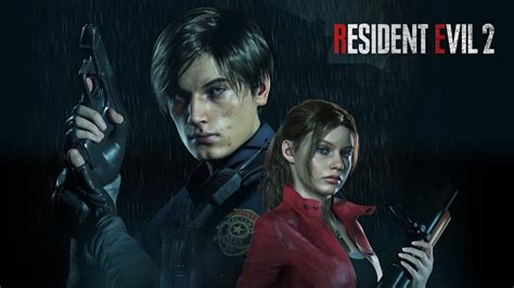 Leon S Kennedy Claire Redfield Resident Evil 2 4k 2