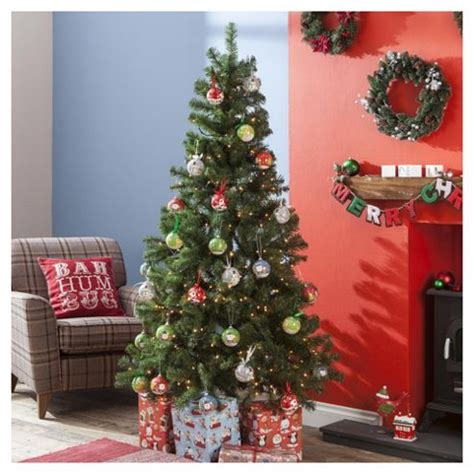 6ft arbour ultima christmas tree buy 6ft tree evergreen fir from our trees range tesco