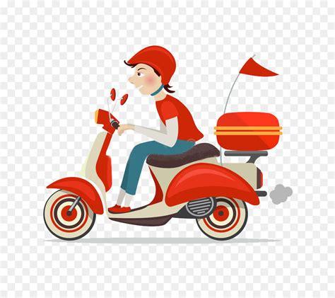 Scooter, Entrega, Moto png transparente grátis