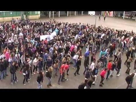 flashmob coll 232 ge joseph bain de bretagne