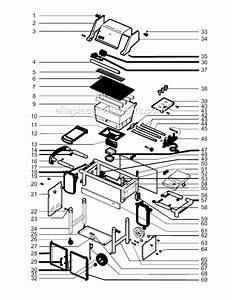 Weber 6750001 Parts List And Diagram