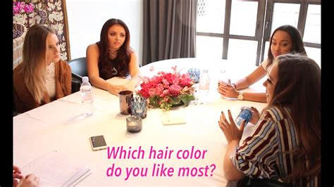 Frida Little Mix Reveal Their Favorite Hair Color Youtube