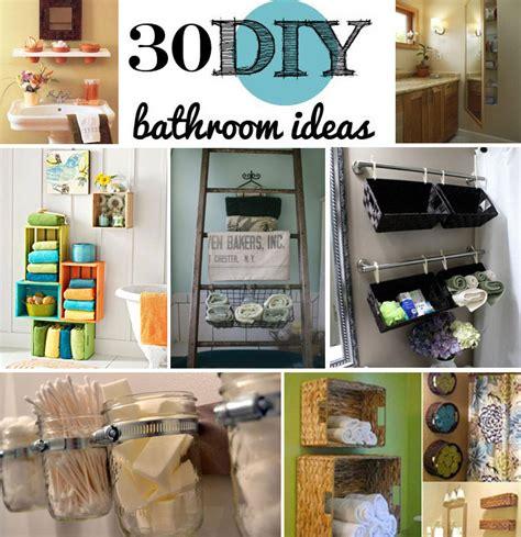 bathroom storage ideas 30 brilliant diy bathroom storage ideas
