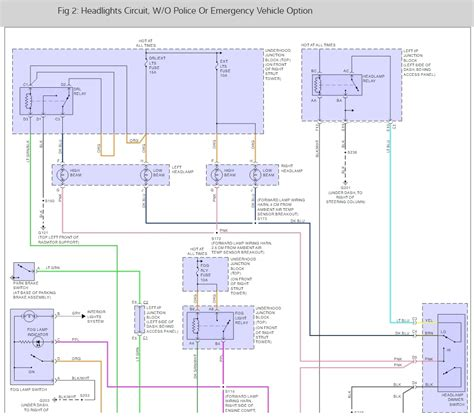 2004 Chevy Impala Headlight Wiring Diagram by What Are Each Wire Color For The Headlight Wire Harness