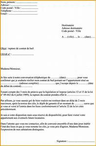 preavis contrat de location modele de lettre With preavis proprietaire location meublee