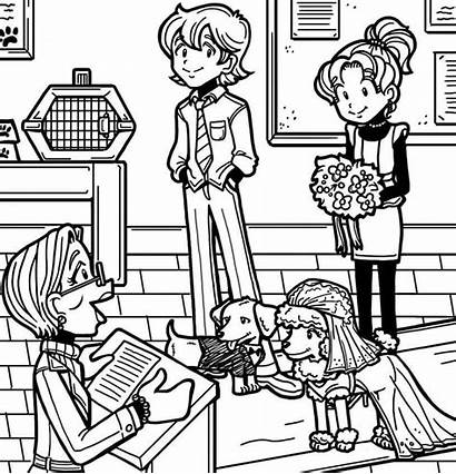 Nikki Brandon Dork Diaries Coloring Pages Colouring