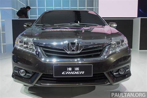 Shanghai 2018 Honda Crider Production Car Debuts Image 169938