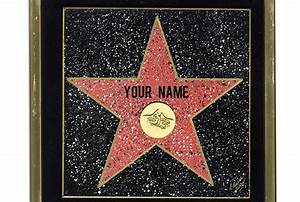 5 Best Images of Hollywood Walk Of Fame Star Template ...