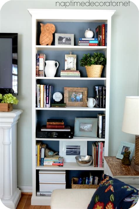 Styling Bookcases For A Much Used Family Room Mixing