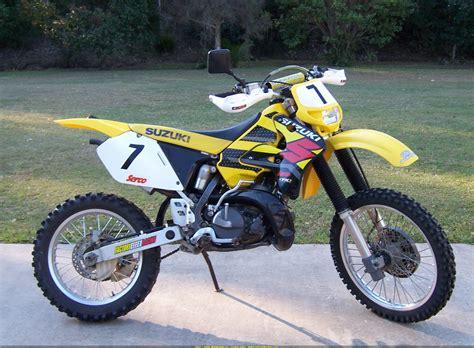 Suzuki Rmx 250 1995 suzuki rmx 250 pics specs and information