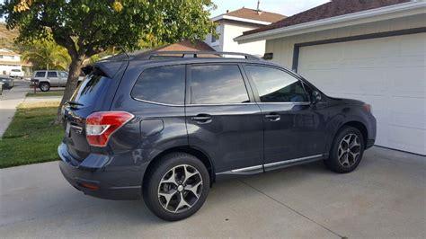 Subaru Forester Window Tinting 70% Ceramic Windshield Tint