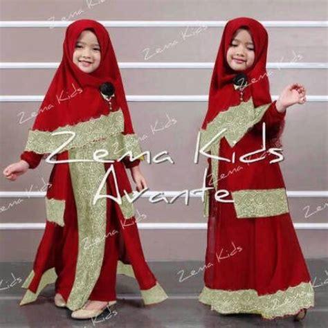 model baju muslim anak perempuan terbaru  lebaran mendatang contoh baju muslimah terbaru