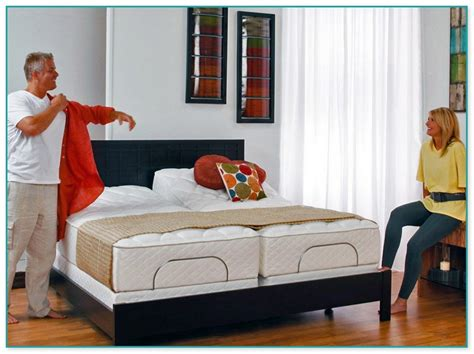 adjustable beds split king